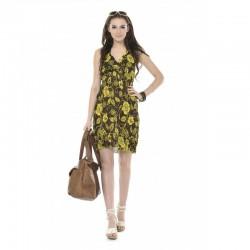 Rochie midi imprimată de vară